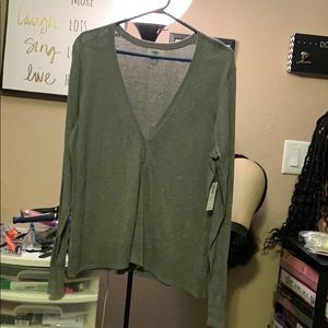 Grey Ladies Cardigan
